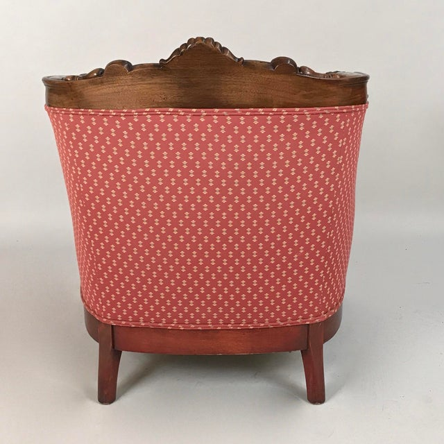 Early 19th Century Early 19th Century English Regency Mahogany Armchair For Sale - Image 5 of 12
