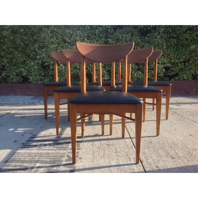 1960's Walnut Dining Set, B.P. Furniture - Image 3 of 7