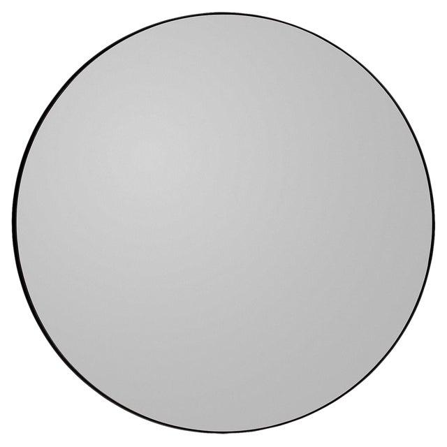 Aytm Large Black Circum Mirror For Sale