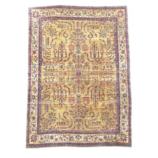 Persian Yazd Carpet - 14′6″ × 19′2″ For Sale