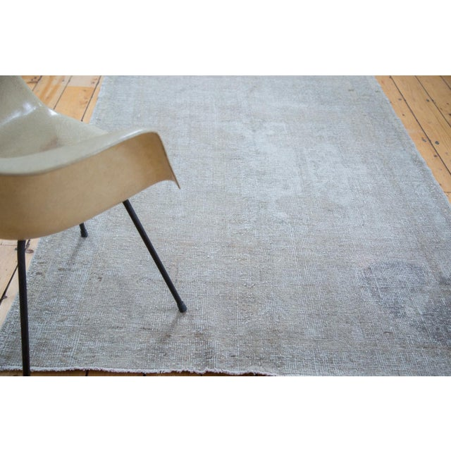 "Distressed Oushak Rug - 4'8"" X 7' - Image 9 of 10"
