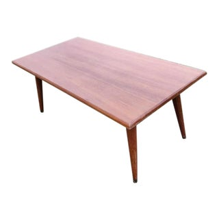 1960s Mid-Century Modern Coffee Table For Sale