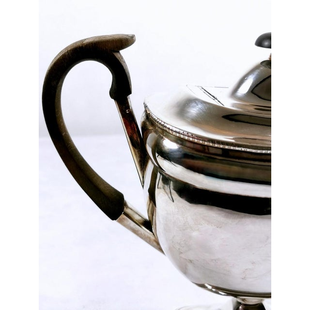 Silver 1820-1830 Sheffield Plate George IV Coffee Pot For Sale - Image 8 of 10