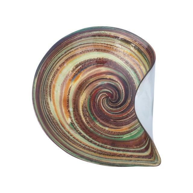 Murano Multicolor Swirl Dish - Image 1 of 3