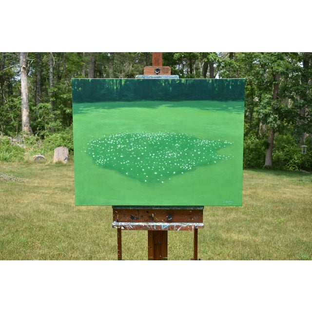 "Contemporary ""Patch of Clover"", Contemporary Painting by Stephen Remick For Sale - Image 3 of 11"