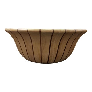 Dansk Decorative Wood Bowl For Sale