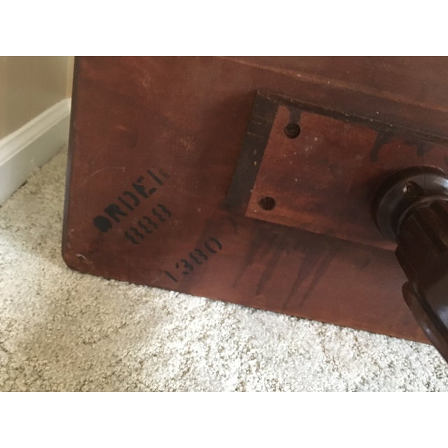 Imperial Federal Style Side Tables - A Pair For Sale - Image 9 of 12
