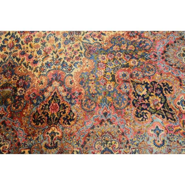 Karastan 10'x16' Kirman Vintage Large Room Size Carpet Rug #759 For Sale - Image 12 of 13