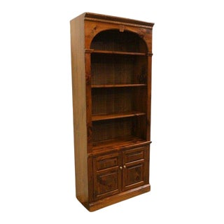 American Classical Ethan Allen Old Tavern Pine Bookcase For Sale