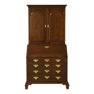 Kittinger Historic Newport Mahogany Secretary Desk Hn-14 For Sale