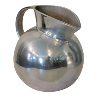 1980s Brass Metal Serving Jug by Tisdale Rwp For Sale