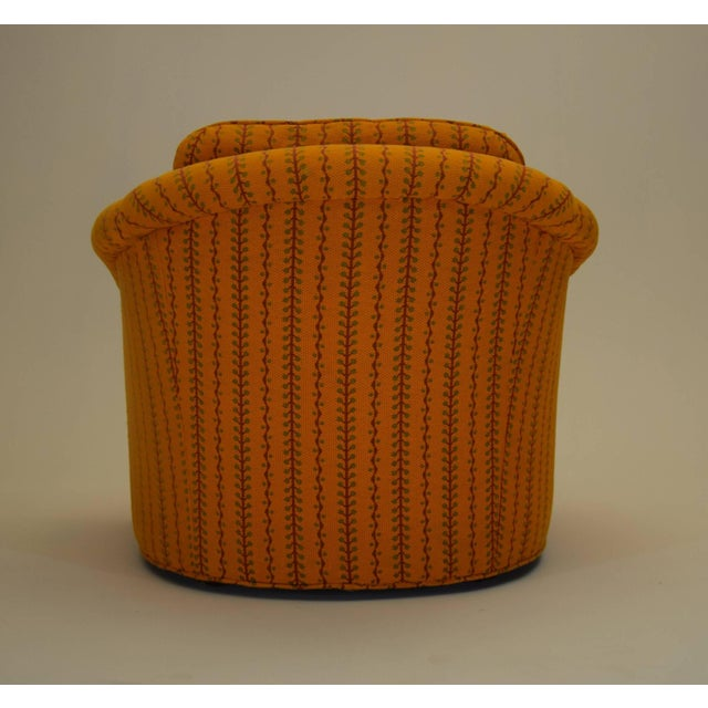 Mid-Century Modern 1960s Kay Lambeth for Erwin-Lambeth Club Lounge Bucket Chair For Sale - Image 3 of 10