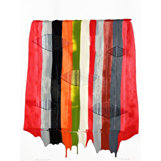 """Fils I Colors Cccxliv"" Original Artwork by Raul De La Torre For Sale In Los Angeles - Image 6 of 6"