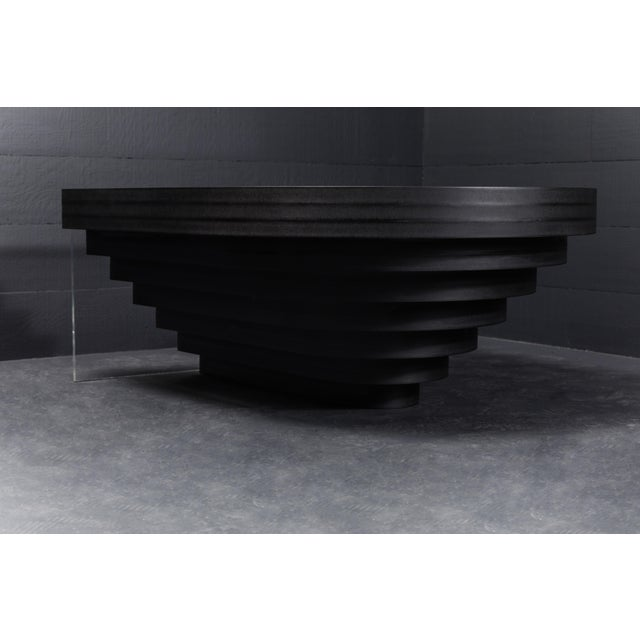Brutiful U&i Coffee Table, Geometric Coffee Table by Birnam Wood Studio For Sale - Image 12 of 13
