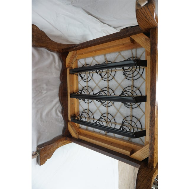 1900s Arts & Crafts Oak Morris Chair - Image 11 of 11