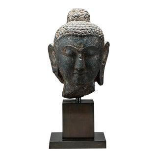 Gupta Stone Head of Buddha For Sale