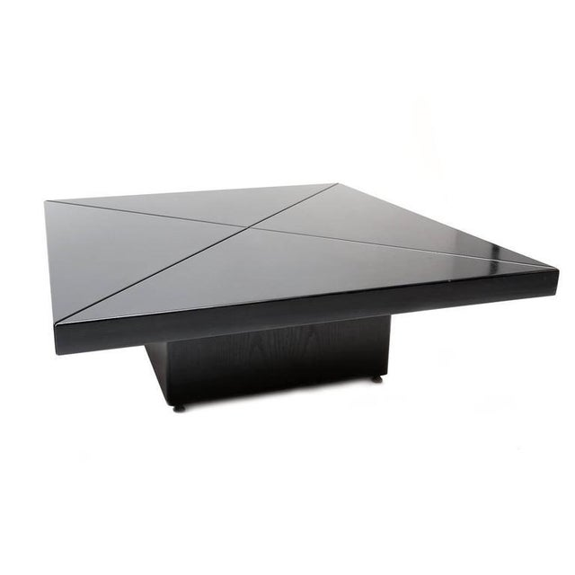 Unique Sliding Coffee Table For Sale - Image 4 of 7