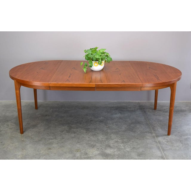 Heltborg Møbler Danish Teak Expandable Dining Table - Image 7 of 11