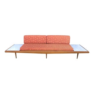 "113""wide Pearsall Style Sofa Daybed Marble Mid Century Modern Yugoslavia"