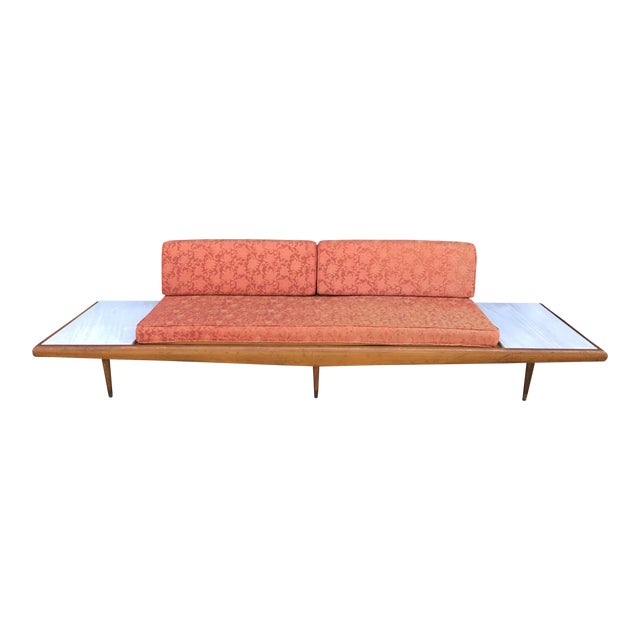 "113""wide Pearsall Style Sofa Daybed Marble Mid Century Modern Yugoslavia - Image 1 of 11"
