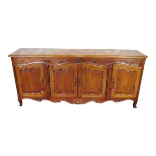 French Provincial Style Dining Room Buffet Sideboard For Sale
