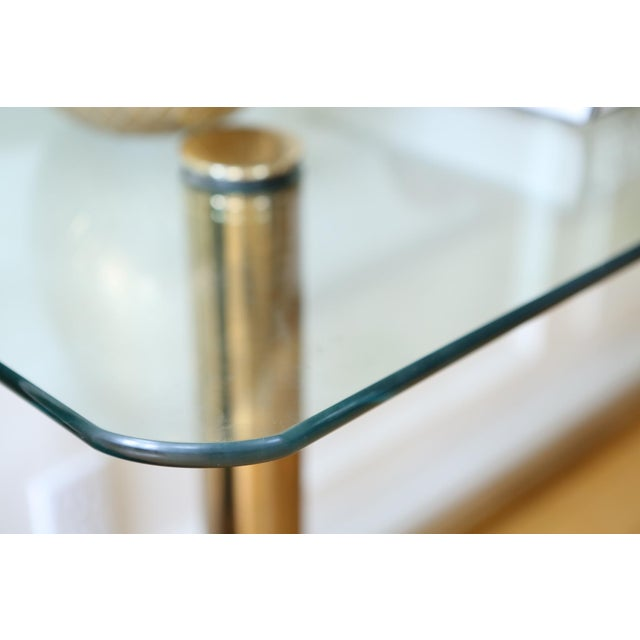 Mid-Century Pace Collection Glass Console Table - Image 8 of 8