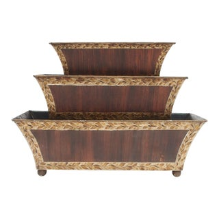 Three Tier Tole Tulipiere For Sale