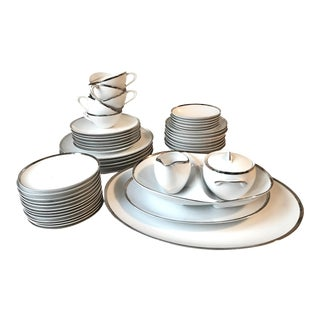 Sango Palatine Pattern Mid-Century Dinner Set - 50 Pieces