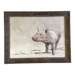 """Hey Little Piggy"" Painting For Sale"
