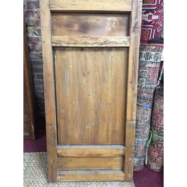 Asian Chinese Antique Screens- a Pair For Sale - Image 3 of 5