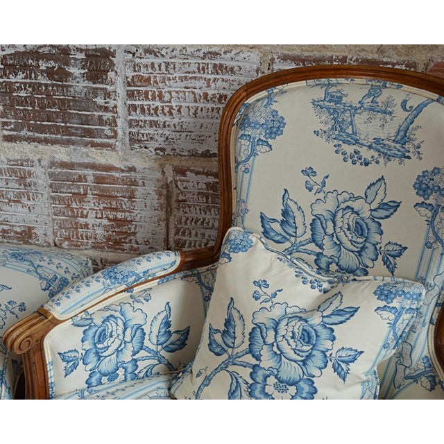 French Provincial Duchesse Brisée For Sale - Image 9 of 11