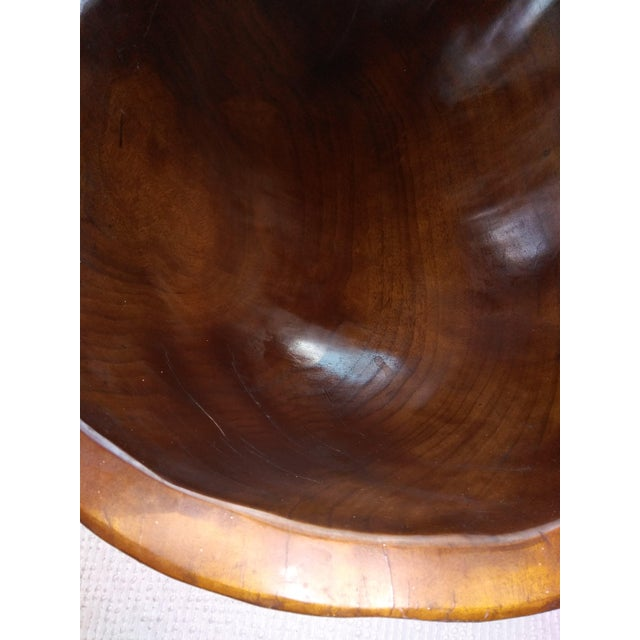 Wood Dough Bowl For Sale In New York - Image 6 of 9