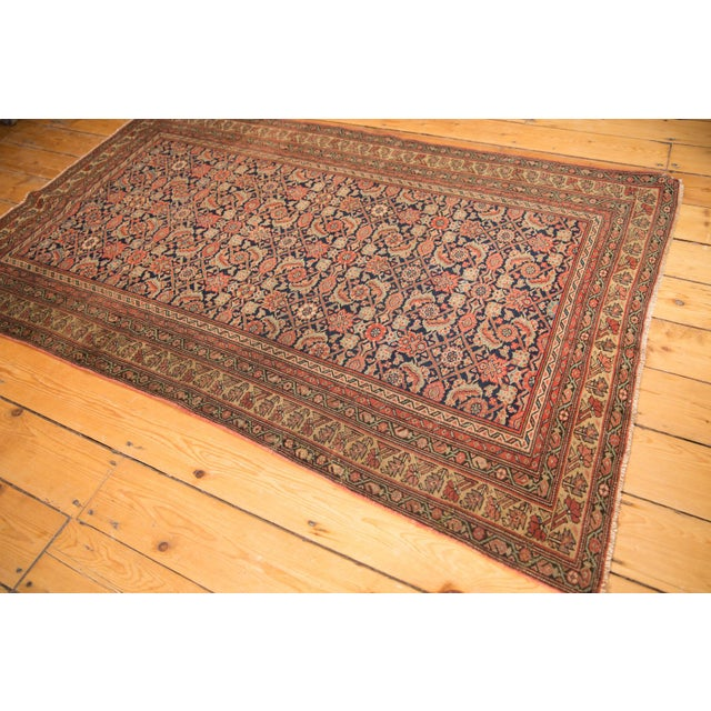 "Antique Mission Malayer Rug - 3'8"" X 5'11"" For Sale - Image 11 of 12"