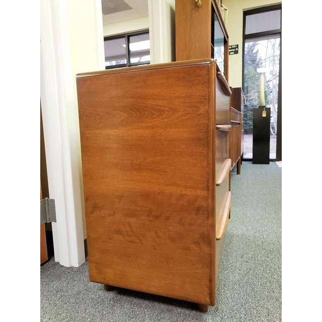 Mid 20th Century 1960s Mid-Century Modern Heywood Wakefield Encore Small Birch Chest of Drawers For Sale - Image 5 of 13
