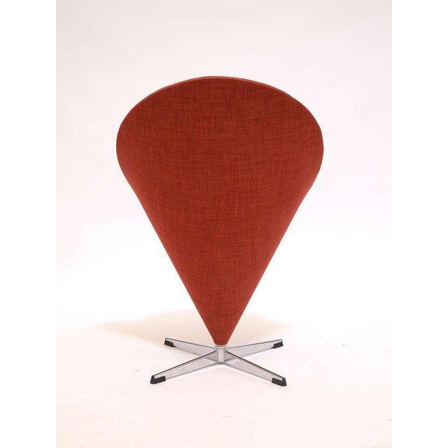 Metal Cone chair by Verner Panton For Sale - Image 7 of 9