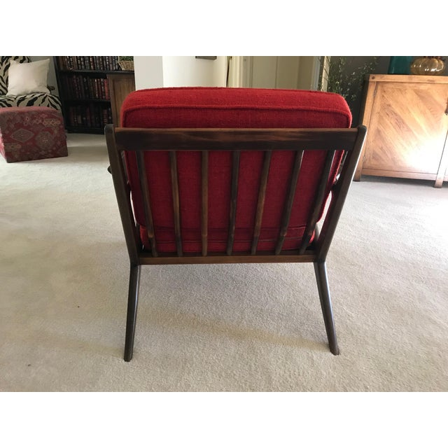 Selig Danish Modern Z Chair For Sale - Image 5 of 8