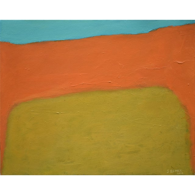 "Stephen Remick, ""Harvest"", Contemporary Abstract Painting For Sale"