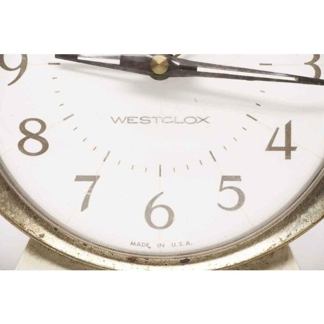 Westclox Westclox Big Ben Plastic & Brass Alarm Clock For Sale - Image 4 of 11