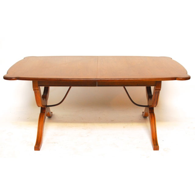 Spanish Trestle Dining Table - Image 6 of 6