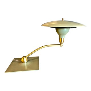 Flying Saucer Desk Lamp by Dazor, circa 1960