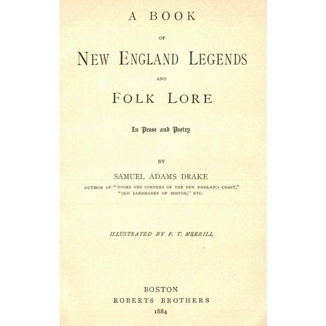 New England Legends & Folk Lore Book - Image 2 of 4