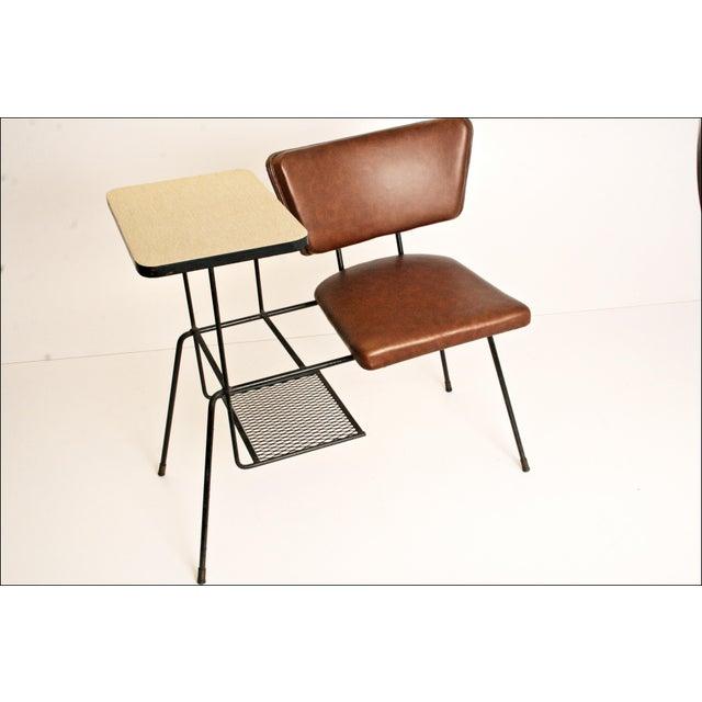 Mid-Century Modern Telephone Chair - Image 9 of 11