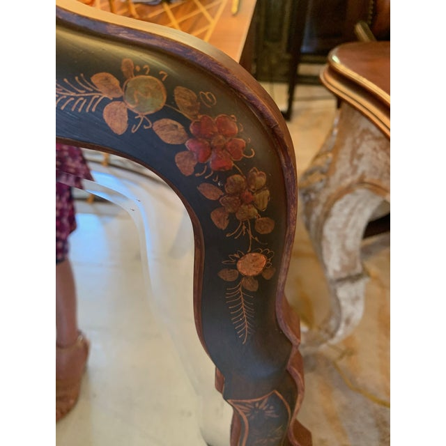 Hand Painted Chinoiserie Mirrors -A Pair For Sale In Philadelphia - Image 6 of 13