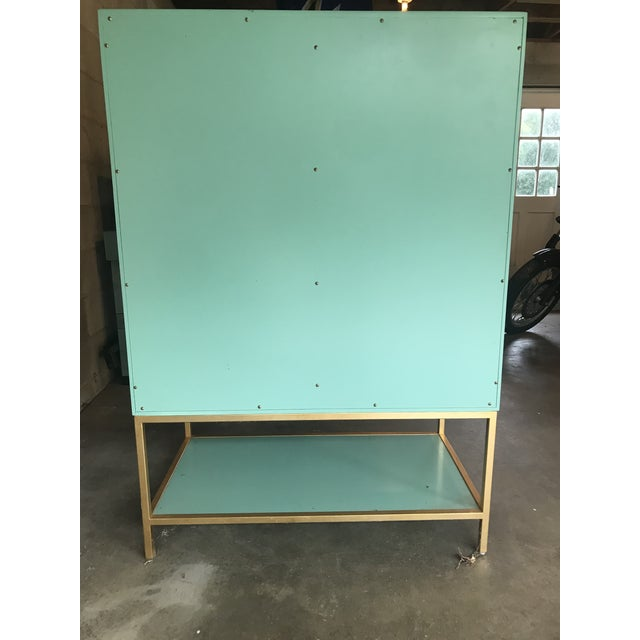Mid Century Modern Lacquered Storage Cabinet For Sale - Image 9 of 13