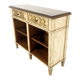 Modern Hooker Shabby Celtic Style Entertainment Console For Sale