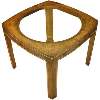 Mastercraft Maidou Burl Side Table For Sale
