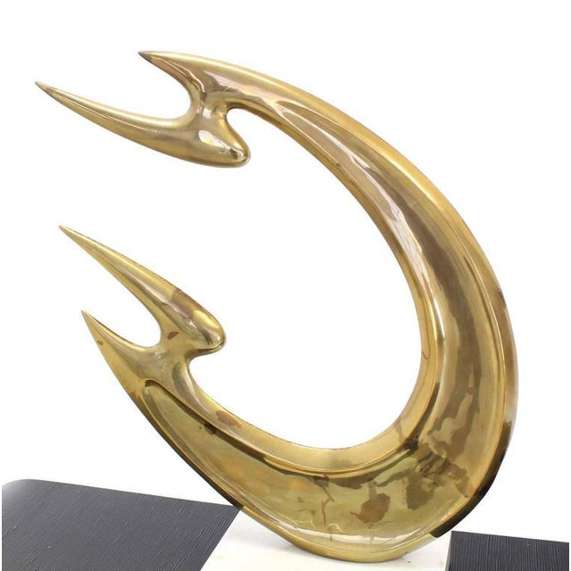 Early 20th Century Modern Abstract Sculpture For Sale - Image 6 of 10