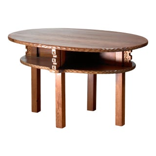 Joel Norborg Pine Coffee Table, Sweden, 1917 For Sale