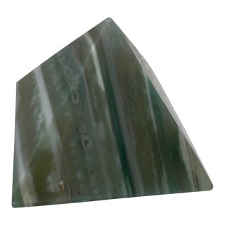 Green Stone Pyramid For Sale