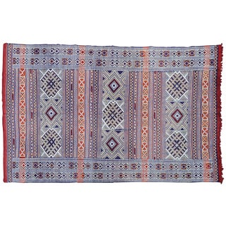 Moroccan Rug- 8'1'' X 5'3'' For Sale